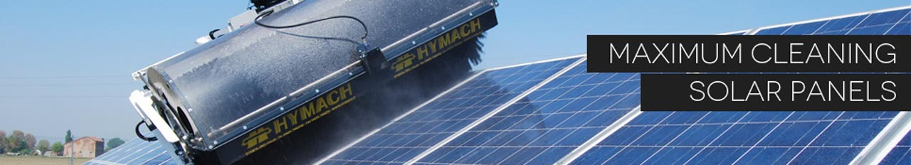 Cleaning solar and photovoltaic panels
