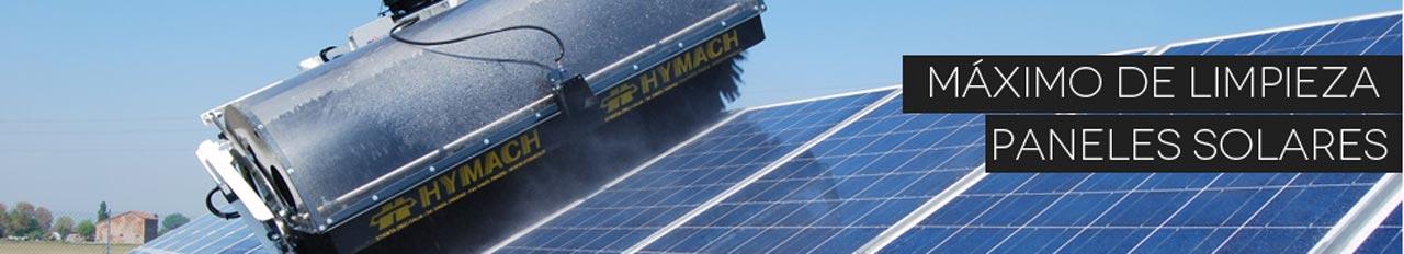 Limpieza de paneles solares y fotovoltaicos